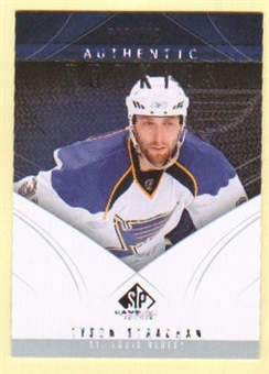 2009/10 Upper Deck SP Game Used #105 Tyson Strachan RC /699