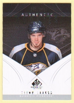 2009/10 Upper Deck SP Game Used #110 Teemu Laakso RC /699