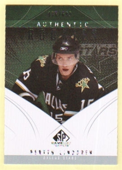 2009/10 Upper Deck SP Game Used #125 Perttu Lindgren RC /699