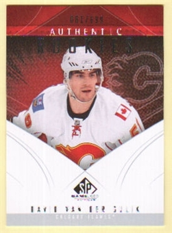 2009/10 Upper Deck SP Game Used #169 David Van Der Gulik RC /699