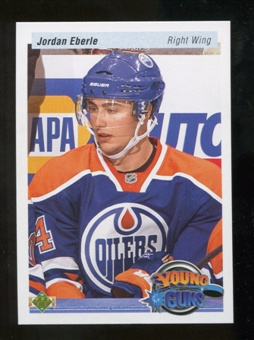 2010/11 Upper Deck 20th Anniversary Parallel #220 Jordan Eberle YG RC