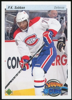 2010/11 Upper Deck 20th Anniversary Parallel #231 P.K. Subban YG RC