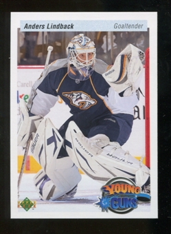 2010/11 Upper Deck 20th Anniversary Parallel #234 Anders Lindback YG
