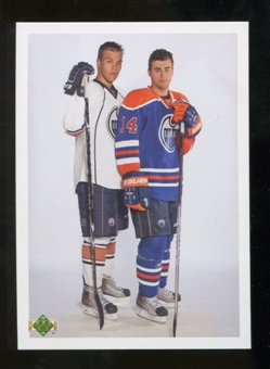 2010/11 Upper Deck 20th Anniversary Parallel #250 Jordan Eberle Taylor Hall YG CL Young Guns Checklist