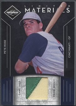 2011 Limited #14 Pete Rose Materials Prime Patch #03/49