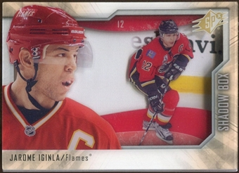 2010/11 Upper Deck SPx Shadowbox #SB14 Jarome Iginla