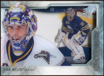 2010/11 Upper Deck SPx Shadowbox Stoppers #ST6 Ryan Miller