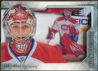 2010/11 Upper Deck SPx Shadowbox Stoppers #ST8 Carey Price