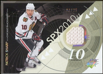 2010/11 Upper Deck SPx Spectrum #23 Patrick Sharp Jersey 1/25
