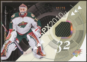 2010/11 Upper Deck SPx Spectrum #50 Niklas Backstrom Jersey 5/25