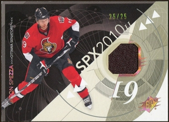 2010/11 Upper Deck SPx Spectrum #68 Jason Spezza Jersey 25/25
