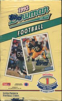 1993 Bowman Football Hobby Box