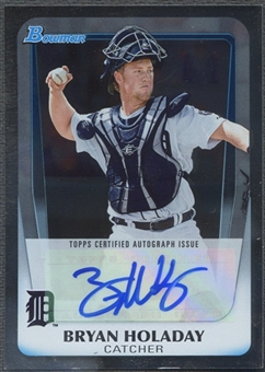 2011 Bowman Draft Prospect #BHO Bryan Holaday Rookie Auto