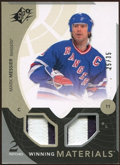 2010/11 Upper Deck SPx Winning Materials Patches #WMMM Mark Messier 25/35