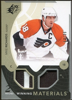 2010/11 Upper Deck SPx Winning Materials Patches #WMMR Mike Richards 13/35