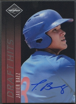 2011 Limited #23 Javier Baez Draft Hits Signatures Auto #041/149