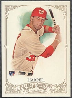 2012 Topps Allen and Ginter #12 Bryce Harper Rookie