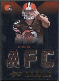 2012 Absolute #205 Brandon Weeden Rookie Premiere Materials AFC Jersey #20/99