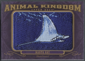 2012 Upper Deck Goodwin Champions #AK158 Manta Ray Animal Kingdom Patch