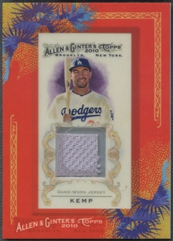 2010 Topps Allen and Ginter #MK Matt Kemp Relics Jersey