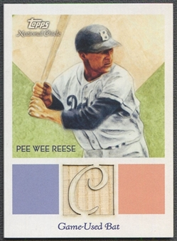 2010 Topps National Chicle #PWR Pee Wee Reese Relics Bat