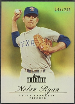 2012 Topps Tribute #71 Nolan Ryan Bronze #149/299