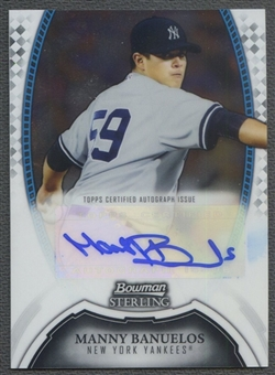 2011 Bowman Sterling Prospect #MB Manny Banuelos Rookie Auto