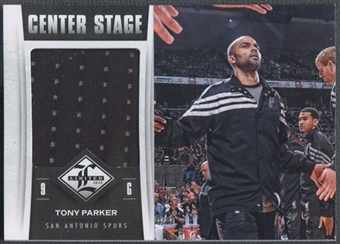 2012/13 Limited #8 Tony Parker Center Stage Materials Jersey #093/199