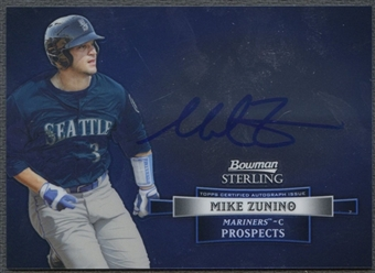 2012 Bowman Sterling #MZ Mike Zunino Prospect Rookie Auto