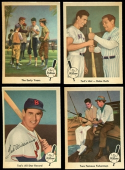 1959 Fleer Baseball Ted Williams Near Complete Set (NM-MT) Missing #68