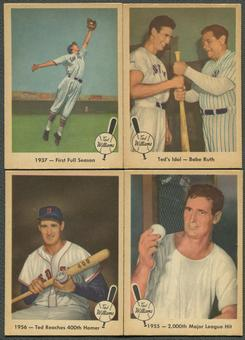 1959 Fleer Baseball Ted Williams Partial Set (EX-MT) Missing #68