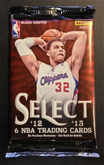 2012/13 Panini Select Basketball Hobby Pack