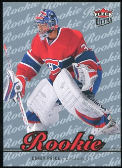 2007/08 Fleer Ultra Ice Medallion #251 Carey Price RC /100