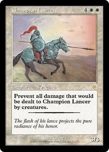 Magic the Gathering Starter Single Champion Lancer UNPLAYED (NM/MT)