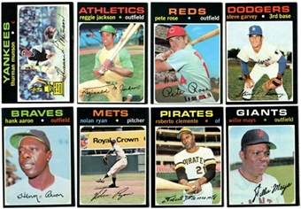 1971 Topps Baseball Complete Set (EX-MT / NM)