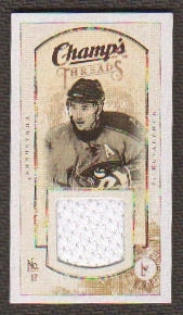 2009/10 Upper Deck Champ's Threads #MTIK Ilya Kovalchuk