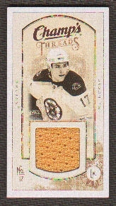 2009/10 Upper Deck Champ's Threads #MTML Milan Lucic