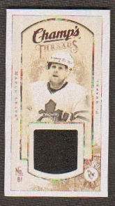 2009/10 Upper Deck Champ's Threads #MTPK Phil Kessel
