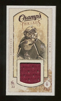 2009/10 Upper Deck Champ's Threads #MTPR Patrick Roy