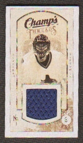 2009/10 Upper Deck Champ's Threads #MTRL Roberto Luongo