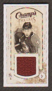 2009/10 Upper Deck Champ's Threads #MTWW Wojtek Wolski