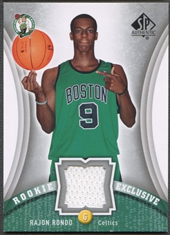 2006/07 SP Authentic #RR Rajon Rondo Rookie Exclusives Jersey
