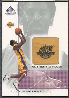 2000/01 SP Game Floor #KB Kobe Bryant Authentic Floor