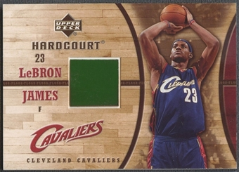 2006/07 Upper Deck Hardcourt #18 LeBron James Game Floor