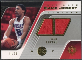 2004/05 Ultimate Collection #JE Julius Erving Limited Jersey #11/75