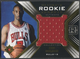 2004/05 Ultimate Collection #BG Ben Gordon Rookie Jersey #213/275