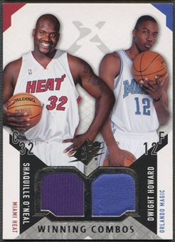 2004/05 SPx #OH Shaquille O'Neal & Dwight Howard Winning Materials Combos Jersey