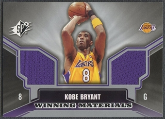 2005/06 SPx #KB Kobe Bryant Winning Materials Jersey