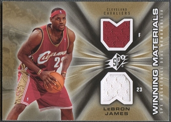 2006/07 SPx #WMLJ LeBron James Winning Materials Jersey