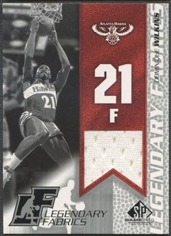 2003/04 SP Game Used #DWL Dominique Wilkins Legendary Fabrics Jersey